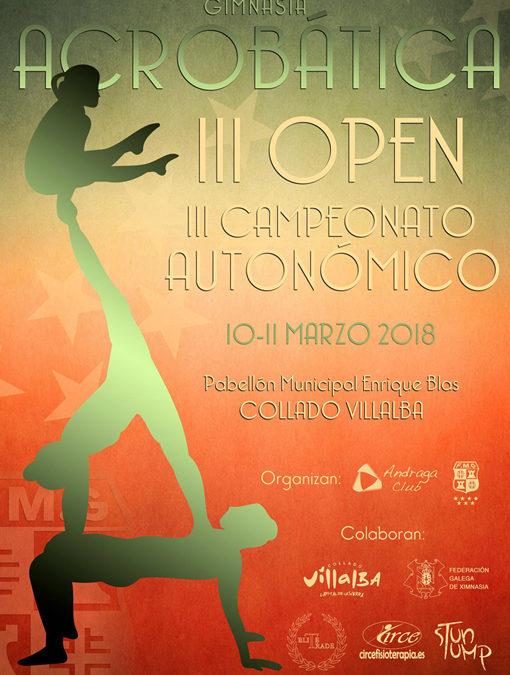 III OPEN MADRID